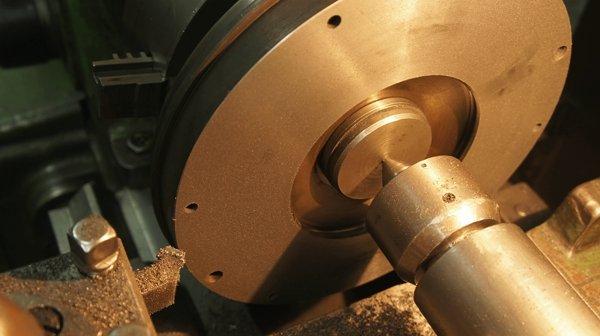 Проточка тормозного диска